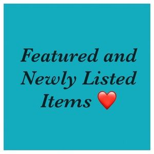 New and featured items! ❤️